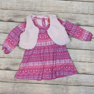 Size 2t Joe fresh dress with vest